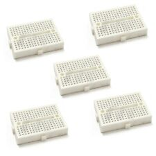 5pcs 170 Mini Solderless Prototype Breadboard for Arduino Shield White