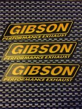 "Gibson Performance RACING DECALS STICKER 7.5x1.75 INCHES FREE SHIPPING"" Offroad"