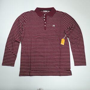 Deadstock Enjoi Skateboards Panda Long Sleeve Pullover Collared Shirt Men's XL