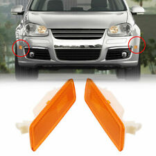 Pair Front Side Markers Light Amber Housing For VW Jetta Golf MK5 2006-2009 2008
