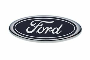 2001-2004 Ford Escape Front Grille Blue Ford Oval Emblem OEM NEW YL8Z-7842528-BB