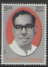 INDIA SG2794 2011 V.SUBBIAH(COMMUNIST LEADER & NATIONALIST) COMMEMORATION MNH