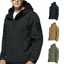 Men Jacket Tactical Coat Soft Shell Military Jacket Waterproof Windproof Coat