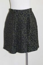 Cue Above Knee Polyester Pleated Skirts for Women