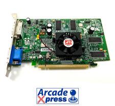 Tarjeta gráfica Arcadevga 128MB PCI Express 15Khz Video Flashed ATI Card