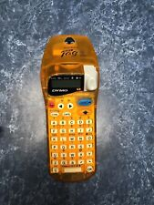 Dymo Letra Tag 2000 Portable Battery Powered Label Maker EUC Orange Office Tools