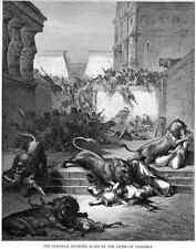 Gustave Dore Bible Gallery 110 A4 Photo Print