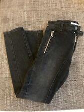 BALMAIN | PIERRE BALMAIN jeans gris noir XS | 28