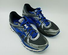 Brooks Adrenaline GTS 17 Men's Running Shoes Gray Blue Sneakers Size 14