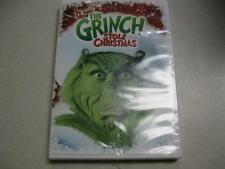 Dr. Seuss' How the Grinch Stole Christmas DVD Factory Sealed Jim Carrey