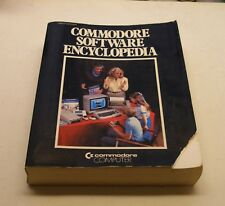 VERY RARE, HUGE BOOK: Commodore Software Encyclopedia by Commodore