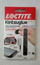 Pâte à Réparer Flexible LOCTITE KINTSUGLUE Noir 3x5gr soit 15gr Neuf