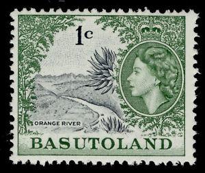 BASUTOLAND QEII SG70, 1c grey-black & bluish-green, NH MINT.