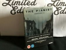 THE PIANIST - BLU RAY- steelbook-Limited Edition-Roman Polanski- audio italiano