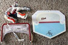 Grant Fuhr signed Team Canada Hockey Mcfarlane COA