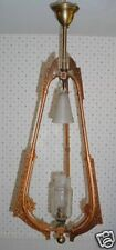 RARE AESTHETIC UNUSUAL GAS LIGHT PENDANT CHANDELIER 38""