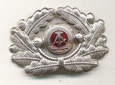 Mützenkranz - Kokarde Metall Offizier NVA Volkspolizei Trapo Bepo