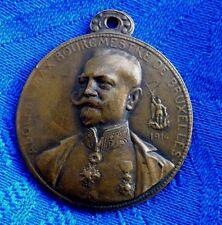 BELLE MEDAILLE BOUGMESTRE DE BRUXELLES 1914 PAR DEVREESE.D