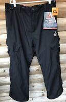 NEW / XXL 2XL Gerry Men's Snow-Tech Pants Boarder Ski Pant 4 Way Stretch Black