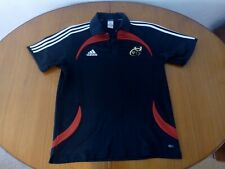 More details for munster rugby shirt adidas large size l 2008 (42/44) polo shirt training top