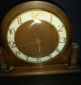 Small Smiths Mantle Clock - Working