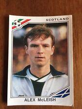 Panini mexico 86 Copa del Mundo - # 332 Alex McLeish-Escocia