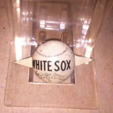 1930s American League Chicago White Sox baseball MLB Button Pin back Tab White