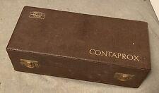 MINT ZEISS IKON CONTAPROX STUTTGART TESSAR 50MM 3.5 LENS - IN PRESENTATION CASE!
