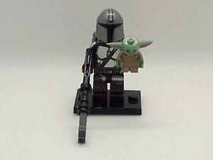 1Lego kompatibel The Mandalorian mit Grogu/Baby Yoda/das Kind   neue Minifigur