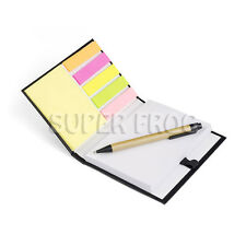 Papier transparent Notebook Plain Stylo à bille bloc-notes écrit Note Pad Sticky Memo Notes