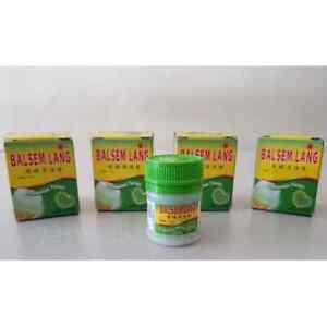 BALSEM LANG Eagle Hot Balm for Muscular Pain Relief - 1 Dozen (10gm x 12)