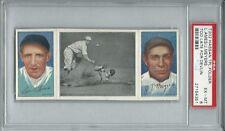 1912 T202 Hassan Triple Folders Too Late for Devlin  Ames / Meyers PSA 6  EX/MT