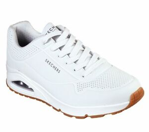 Skechers UNO Stand ON Air, Sneakers Uomo White 52458/WHT