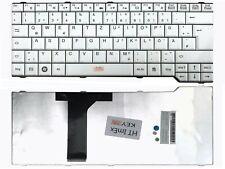 DE - Weiß Tastatur Keyboard kompatibel für Fujitsu Siemens Amilo Si3655