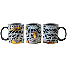 """The Beatles Yellow Submarine """"Sea of Holes"""" 14 oz Sculpted Relief Mug GREAT GIFT"""