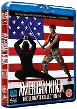 AMERICAN NINJA 1-4 Collector Edition BOX 4 BluRay in Inglese NEW PRENOTAZ.