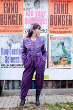 Damen Jacke Oberteil lila mit Metallnieten 90er True VINTAGE 90s woman jacket