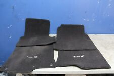 2011 Acura TSX 09-14 Black OEM Floor Mat Carpet set original 09 10 11 12 13 14