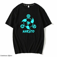 Luminous T-shirt Anime One Piece TShirts Short Sleeve Tops Tees Gifts Men Women