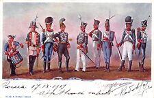 2072) GRANATIERI DI SARDEGNA, UNIFORMI STORICHE DAL 1780 AL 1820. VIAGGIATA.
