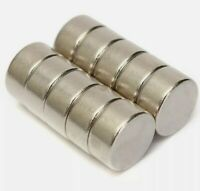 10 x  10mm x 5mm (N52) Neodymium Neo Round Small Disc Rare Earth Magnets Strong