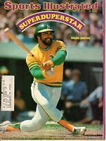 1974 (6/17) Sports Illustrated magazine,Baseball,Reggie Jackson, Oakland A's ~VG