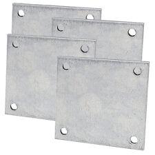 4 Pack Penn Elcom H1460 Backplate For H1435 Snap Spring Shackles Zintec Steel