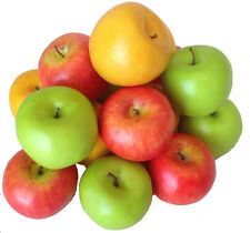 Deko Äpfel 15 Stück Kunstobst Kunstgemüse künstliches Obst Gemüse Dekoration