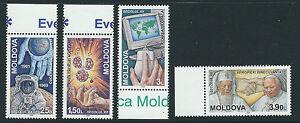 Moldova 2000 Eventos De 20th Siglo Papa John Balde II Completo Conjunto 4 VF MNH