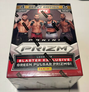 2021 PANINI PRIZM UFC BLASTER BOX LOT OF 8 DEBUT EDITION FACTORY SEALED!!🔥