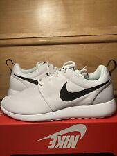Nike Roshe One Training Shoes White Black Womens Size 12