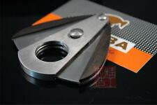 Cohiba Stainless Steel & RoseWood Cigar Punch Cutter