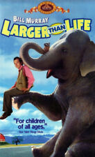 LARGER THAN LIFE (1997, CLAMSHELL VHS)