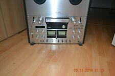 HighEnd Tonbandgerät Philips N4520 Bandmaschine, NAB Adapter und 2 Spulen
